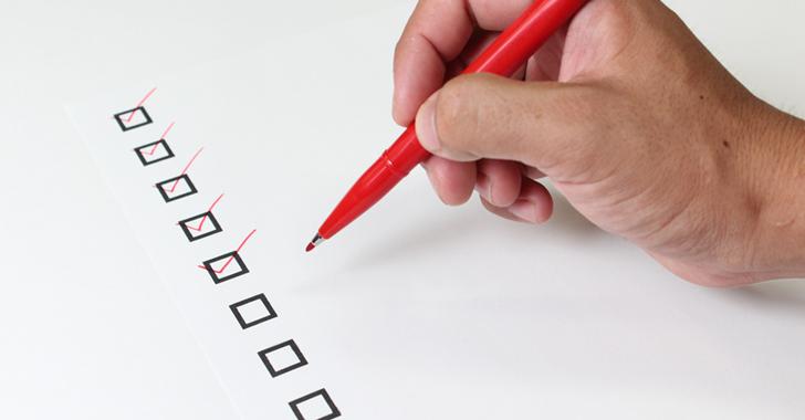 会社設立登記申請に必要な書類チェックシート