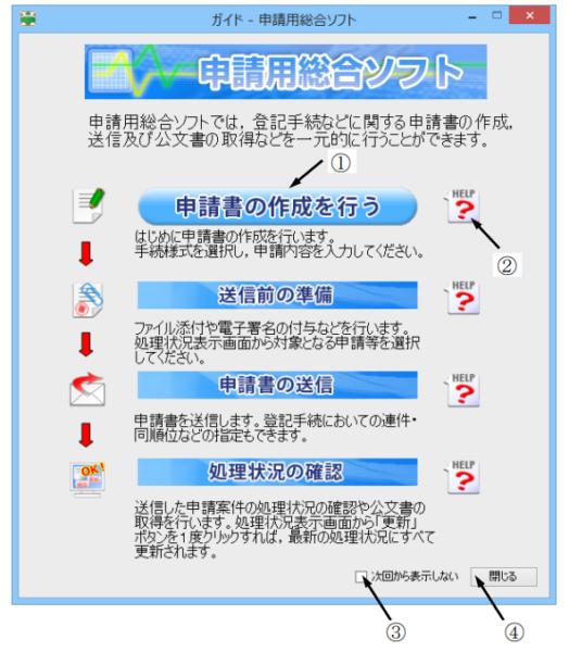 10.申請用総合ソフトを使って定款を送信する