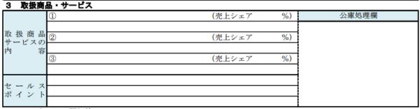 取扱商品・サービス(セールスポイント)の審査通過のコツ